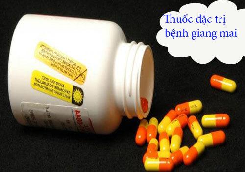 Thuốc kháng sinh đặc trị bệnh giang mai
